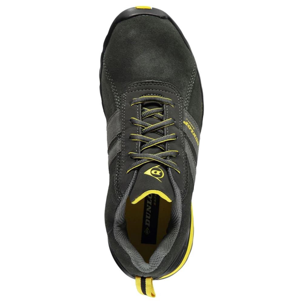 DUNLOP Men's Indiana Safety Toe Work Shoes - CHARCOAL