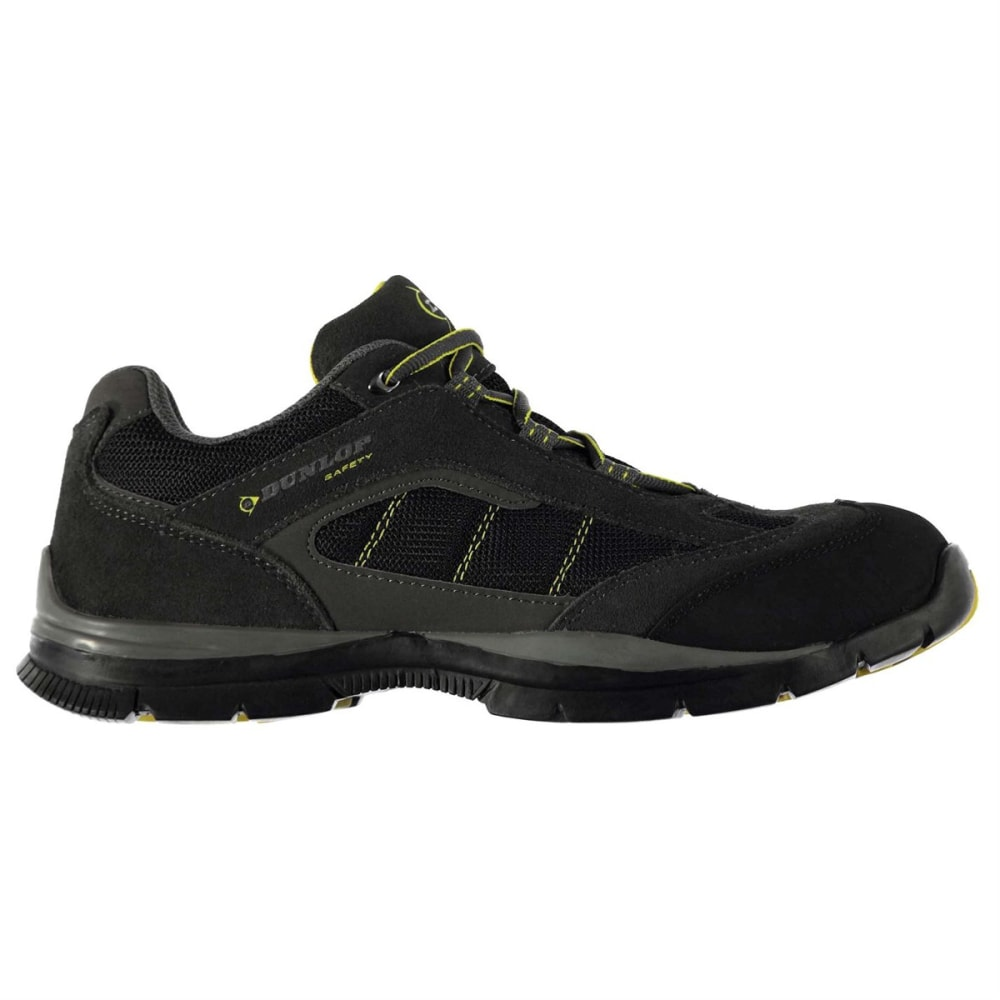 Dunlop Men's Safety Iowa Steel Toe Work Shoes - Black, 10