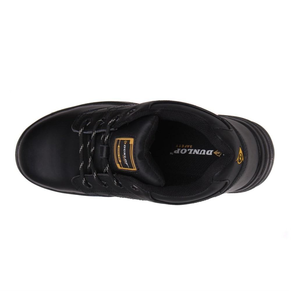 DUNLOP Men's Kansas Steel Toe Work Shoes - BLACK