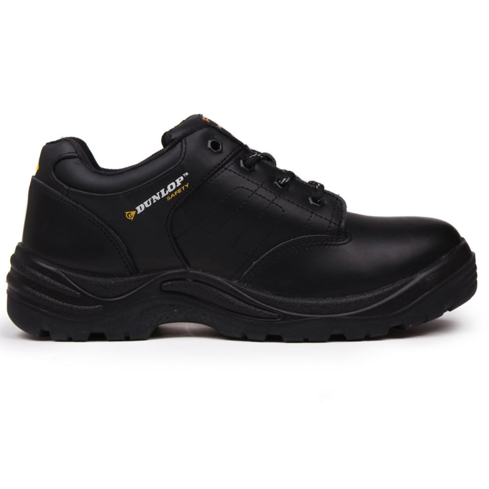 DUNLOP Men's Kansas Steel Toe Work Shoes - BLACK