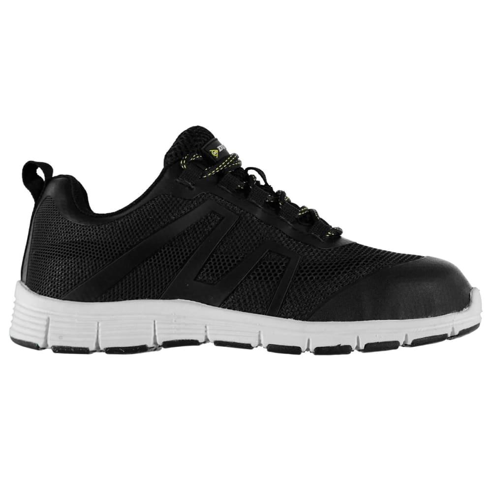 DUNLOP Men's Maine Steel Toe Work Shoes - BLACK