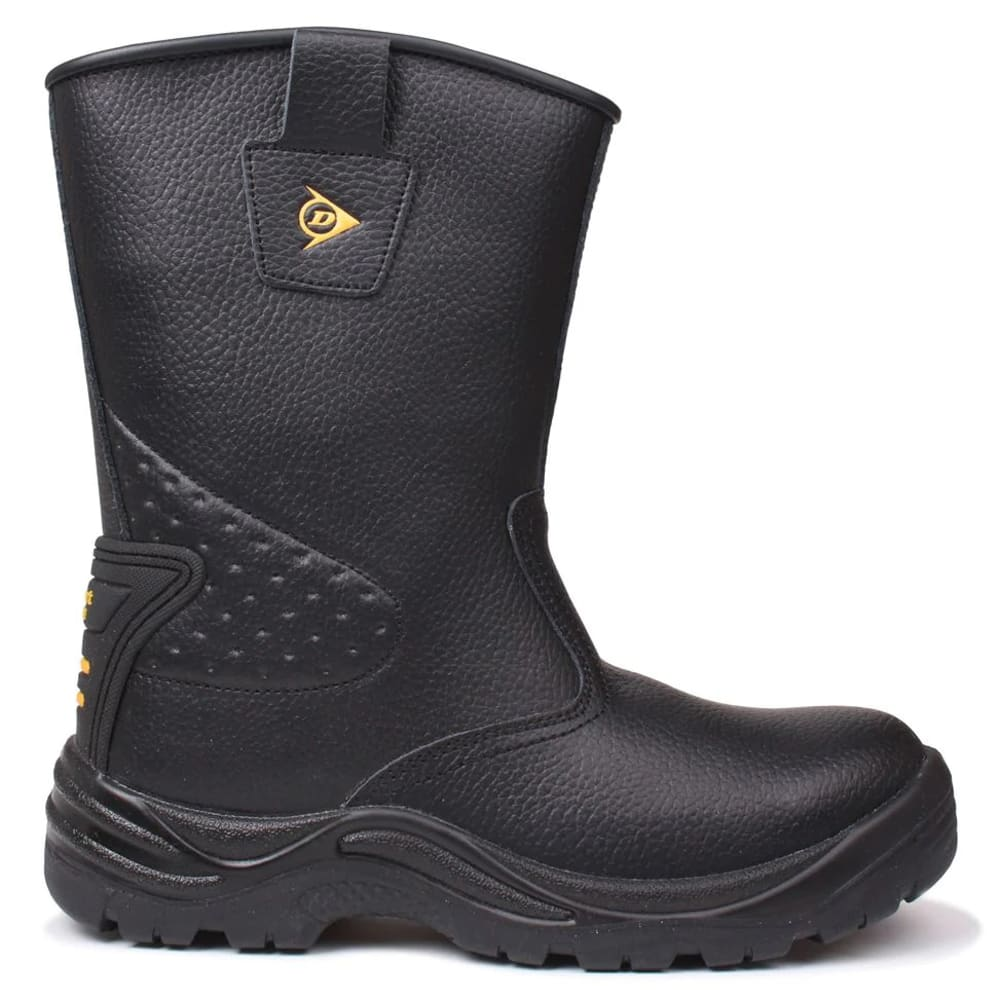 DUNLOP Men's Safety Rigger Waterproof Steel Toe Work Boots 9