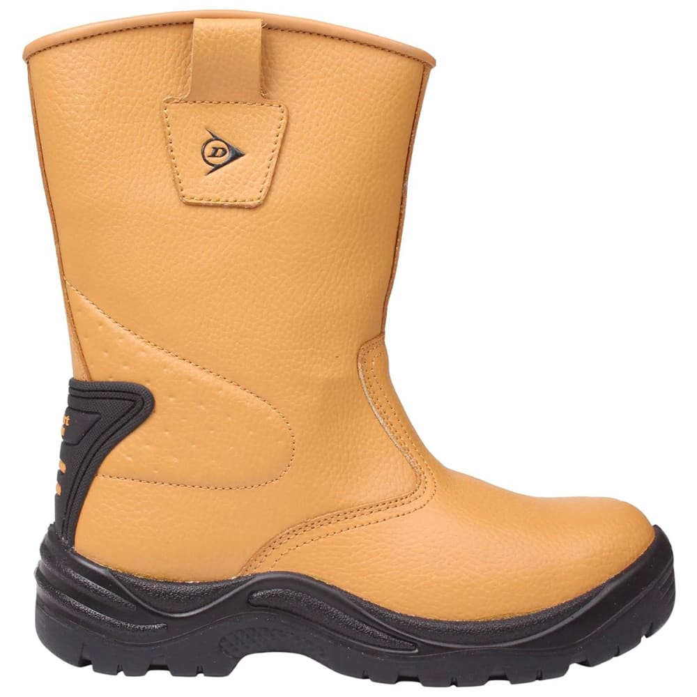 DUNLOP Men's Safety Rigger Waterproof Steel Toe Work Boots 7