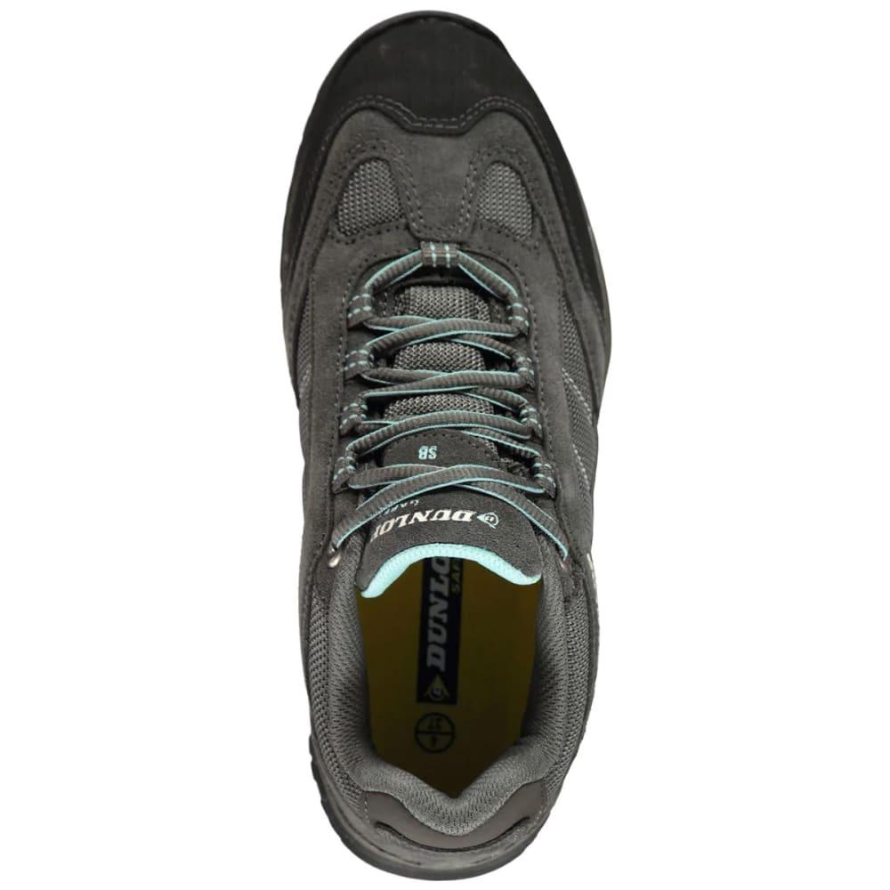 DUNLOP Women's Iowa Steel Toe Work Shoes - GREY/BLUE