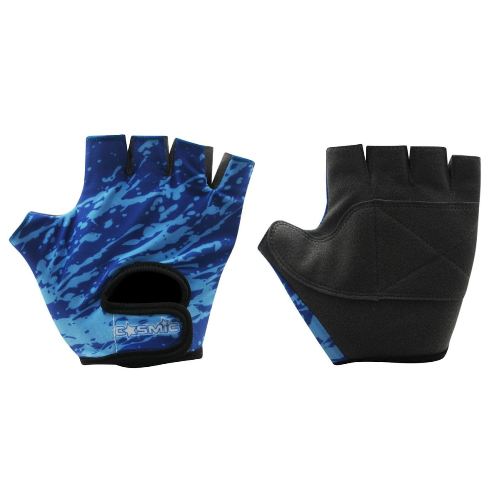 Cosmic Boys Cycling Gloves - Blue, ONESIZE