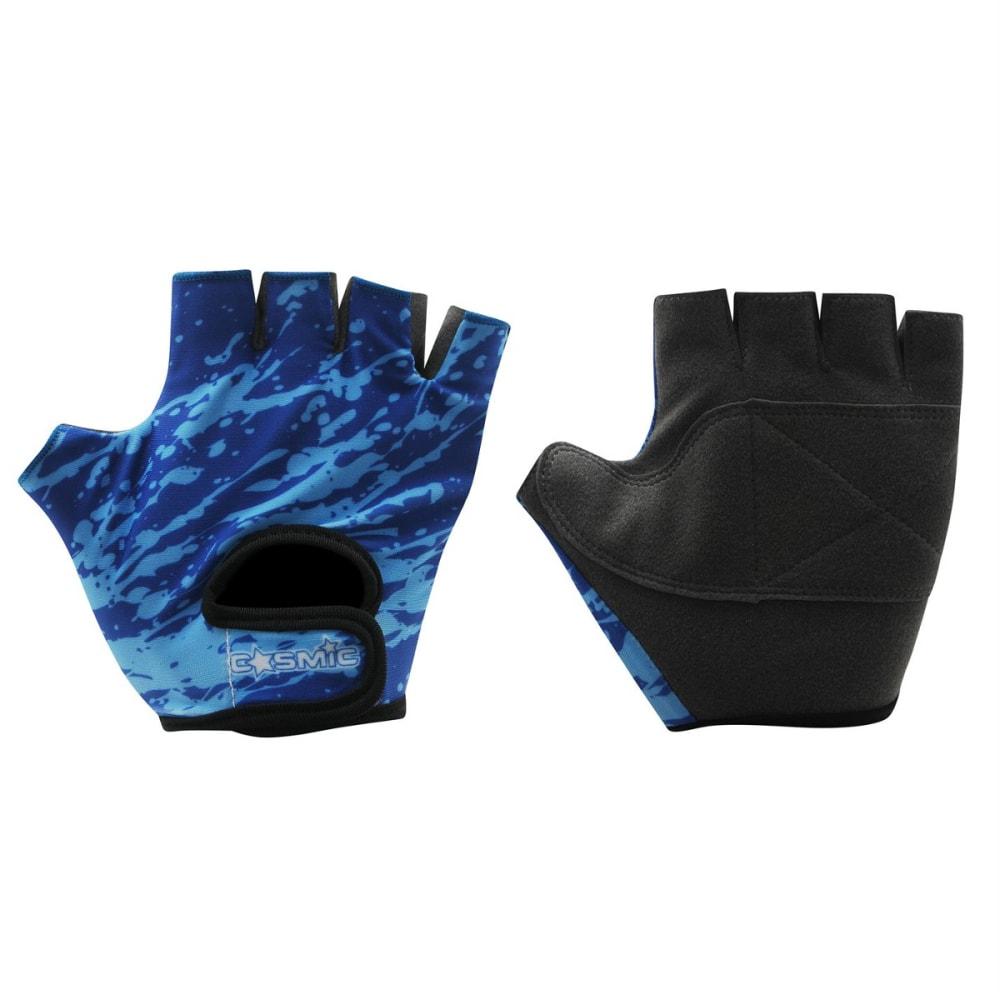 COSMIC Boys' Cycling Gloves - BLUE