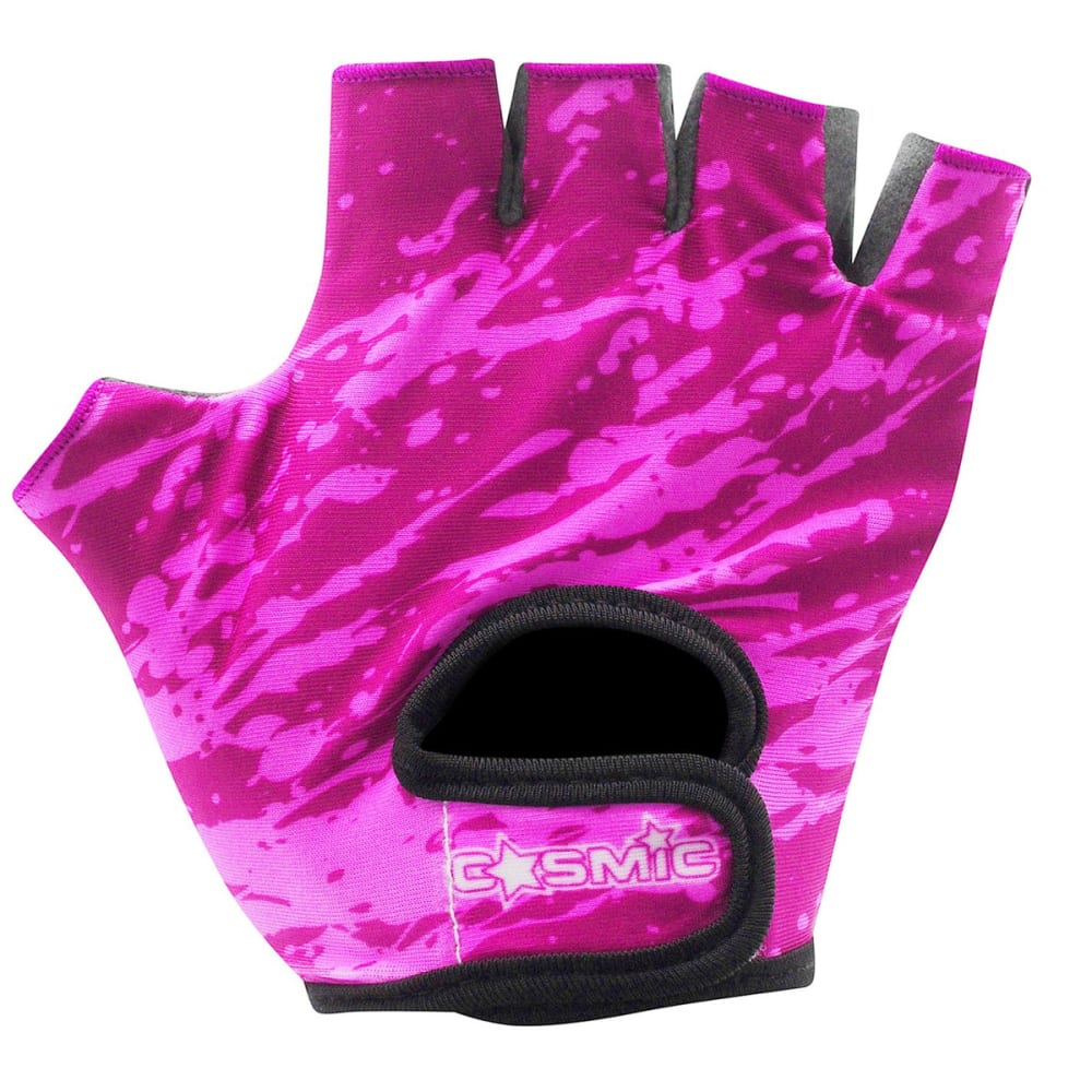 COSMIC Girls' Cycling Gloves - PINK