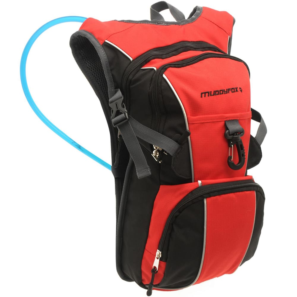 MUDDYFOX 2L Hydration Pack - BLACK/RED