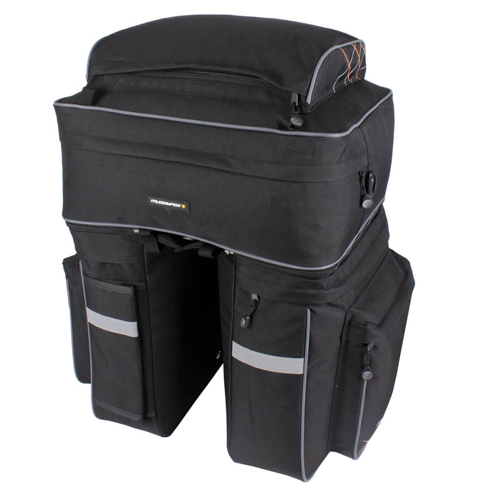 MUDDYFOX Pannier Cycling Bag - BLACK