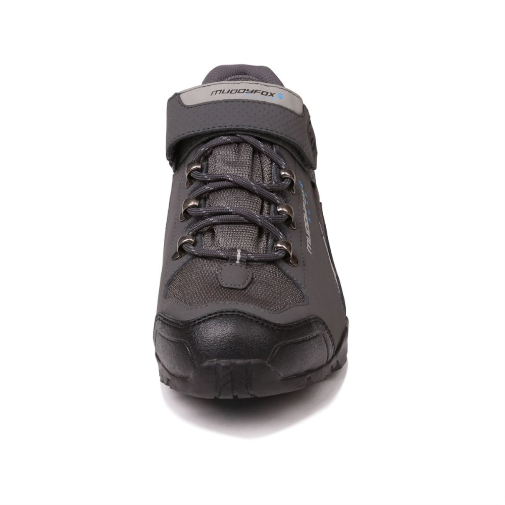 MUDDYFOX Men's TOUR 200 Low Waterproof Cycling Shoes - Char/Grey/Blue