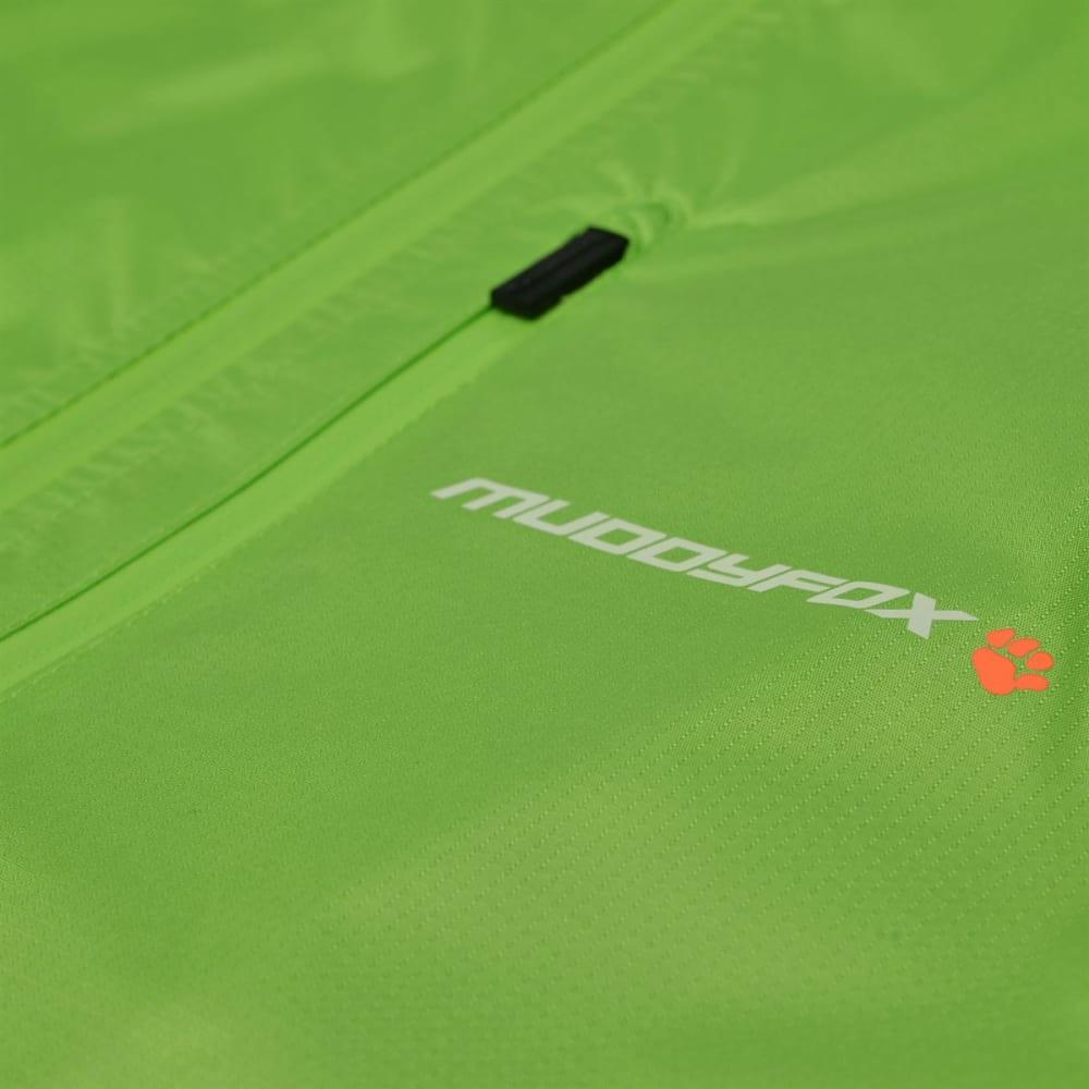 MUDDYFOX Men's Cycle Jacket - GREEN/BLACK