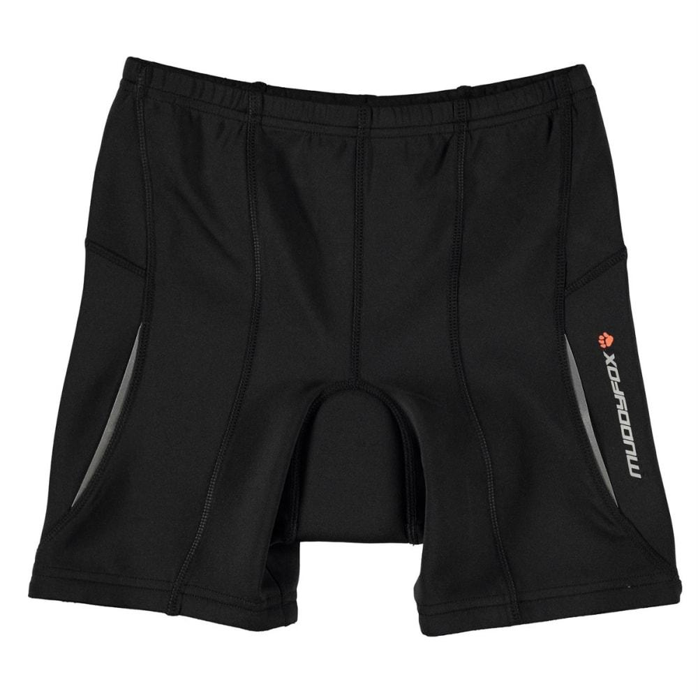 MUDDYFOX Big Boys' Padded Cycling Shorts - BLACK