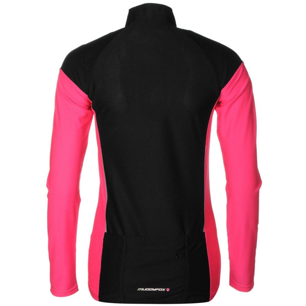 MUDDYFOX Women's Cycling Long-Sleeve Jersey - BLACK/PINK