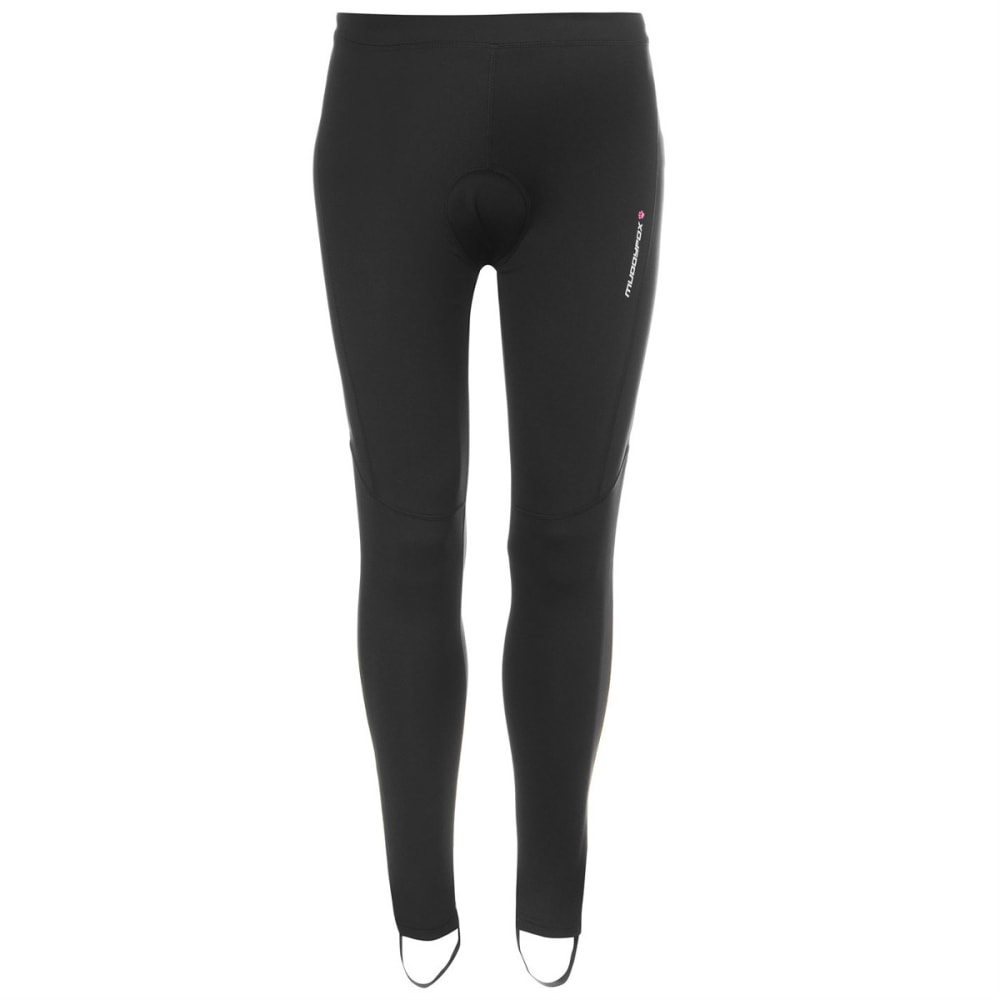 MUDDYFOX Women's Padded Cycle Tights - BLACK