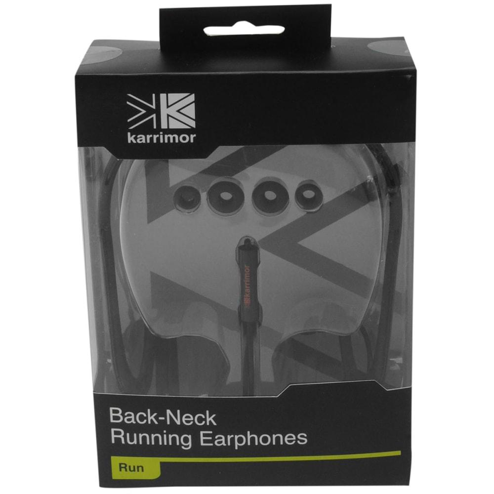 KARRIMOR Band Running Earphones - BLACK
