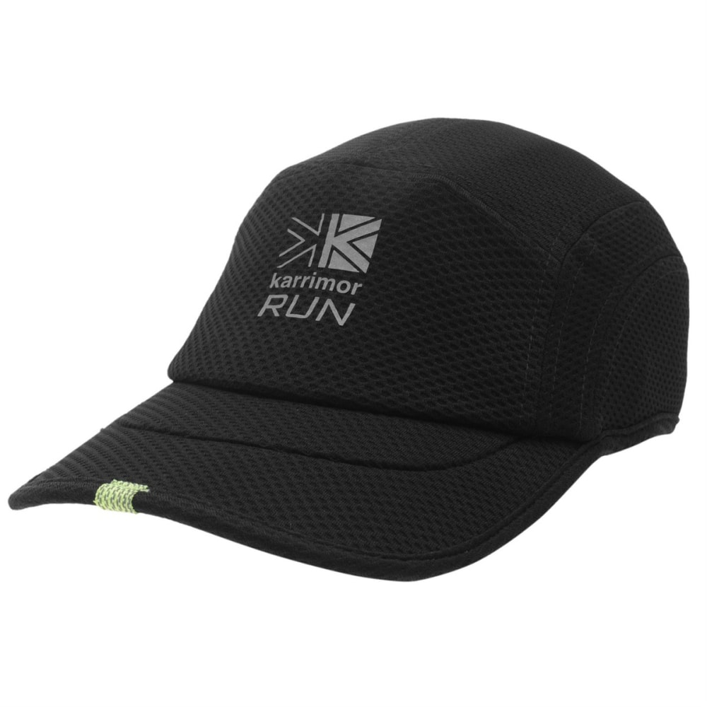 KARRIMOR Men's Race DryX Running Cap - BLACK