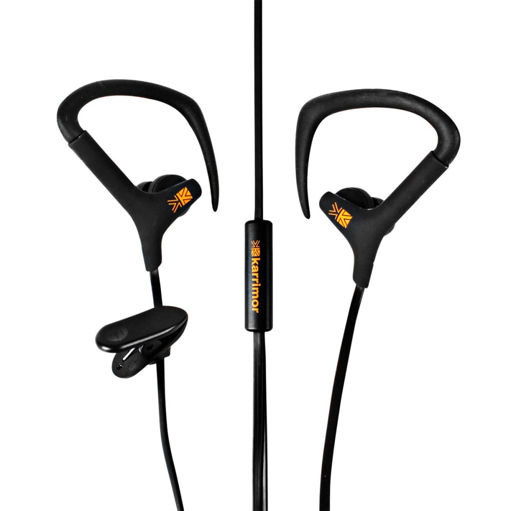 KARRIMOR Sport Earphones - BLACK