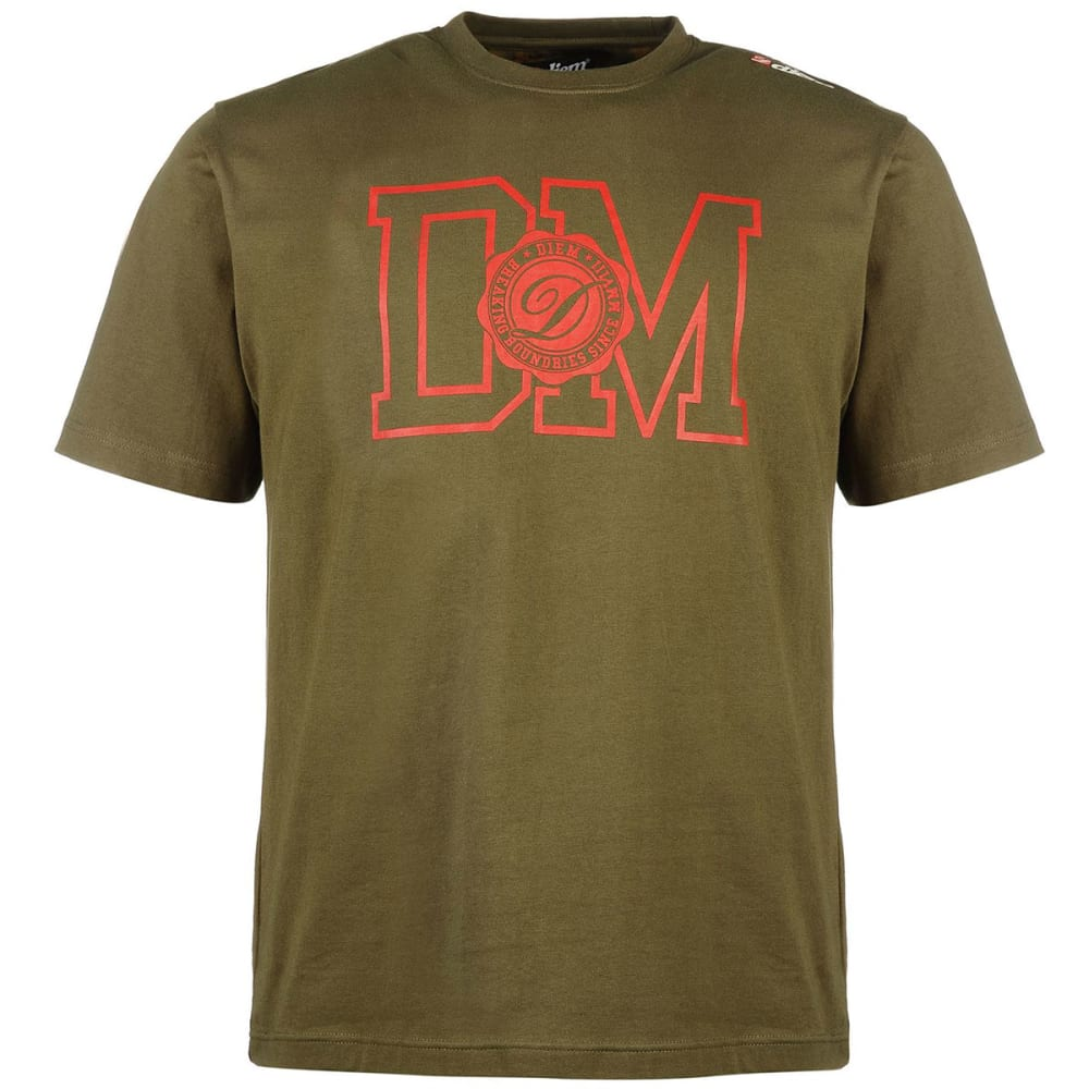 Diem Men's Champion Short-Sleeve Tee - Green, L