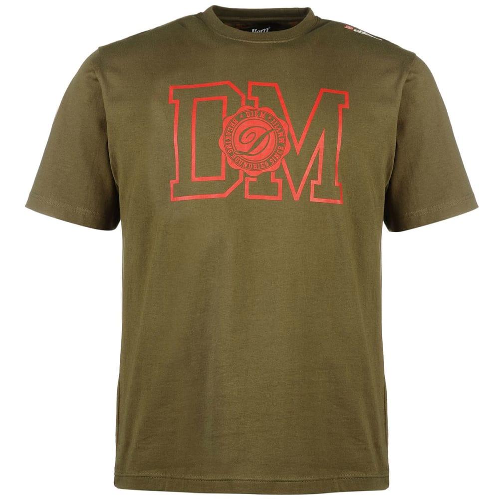 DIEM Men's Champion Short-Sleeve Tee - GREEN