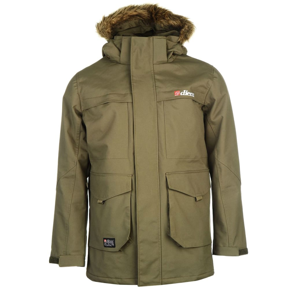 Diem Men's D6 Jacket - Green, L