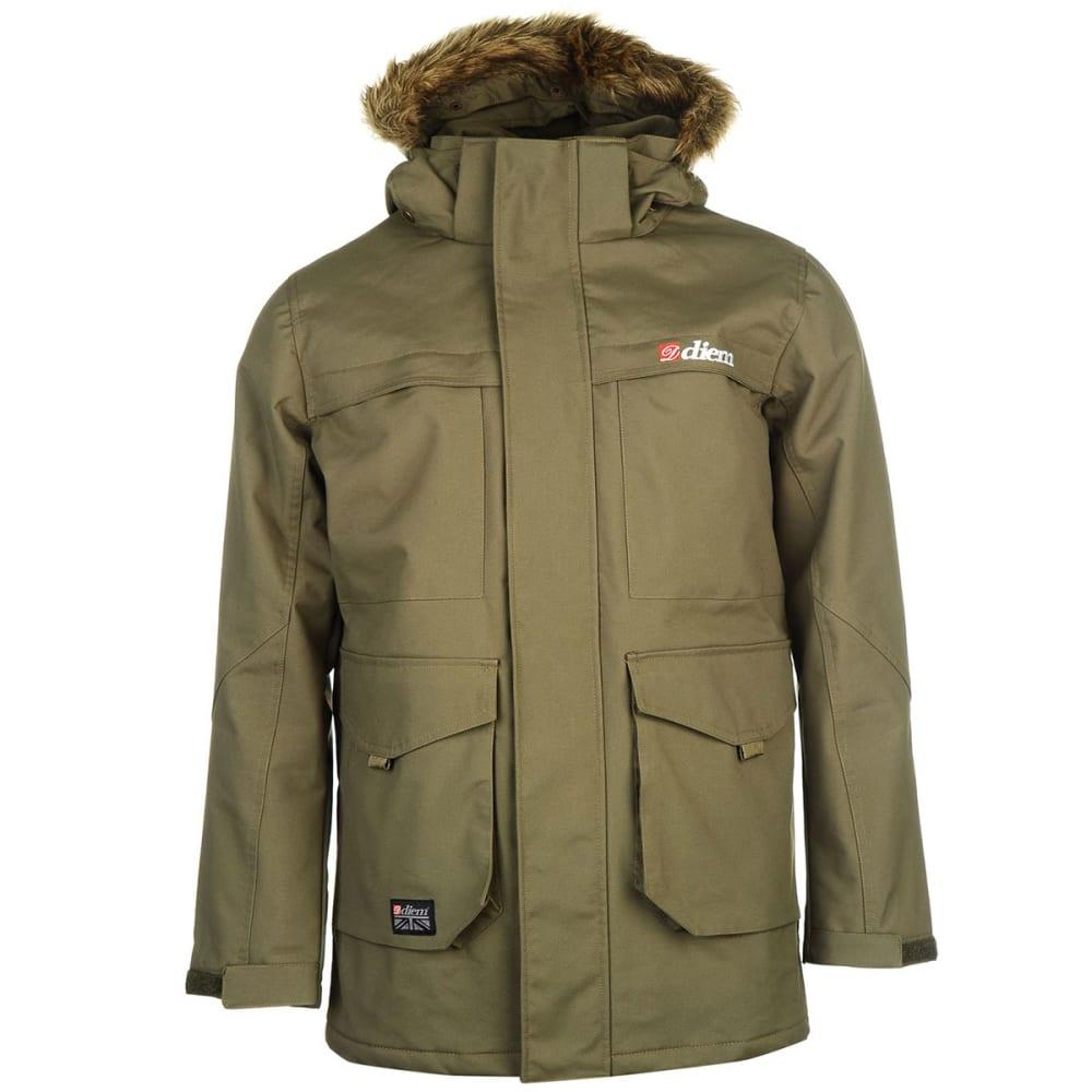 DIEM Men's D6 Jacket - GREEN