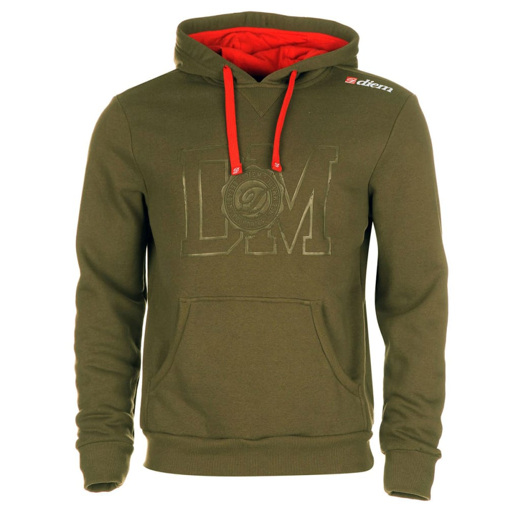 Diem Men's Heritage Pullover Hoodie - Green, L