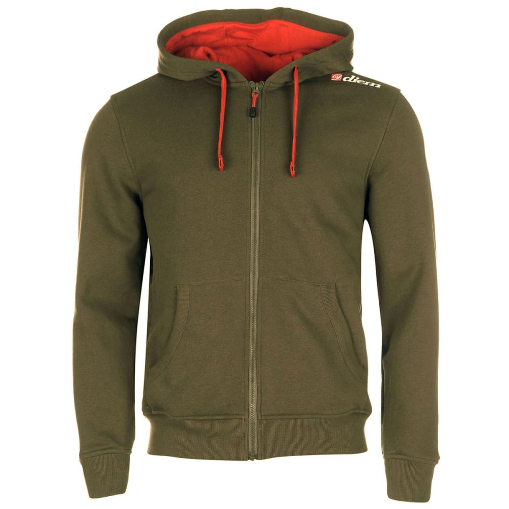 Diem Men's Outlaw Full-Zip Hoodie - Green, L