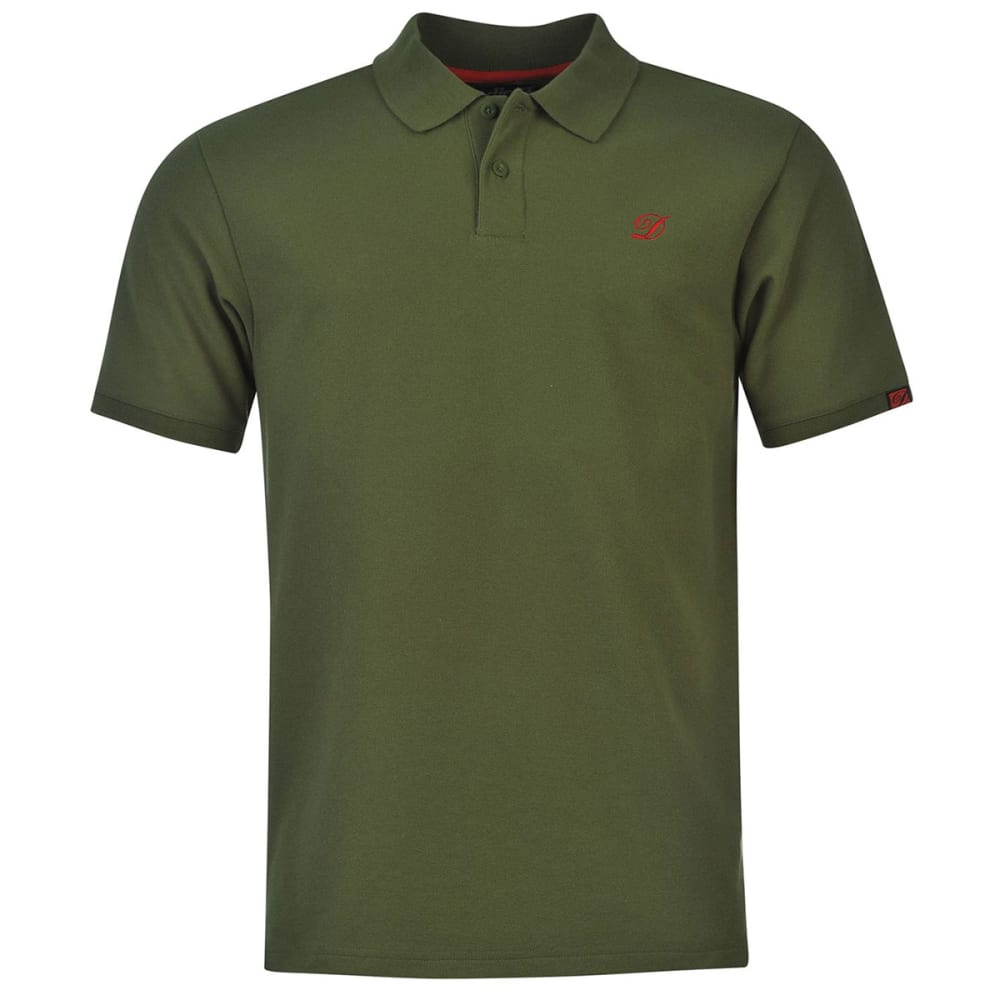 Diem Men's Polo Short-Sleeve Shirt - Green, L