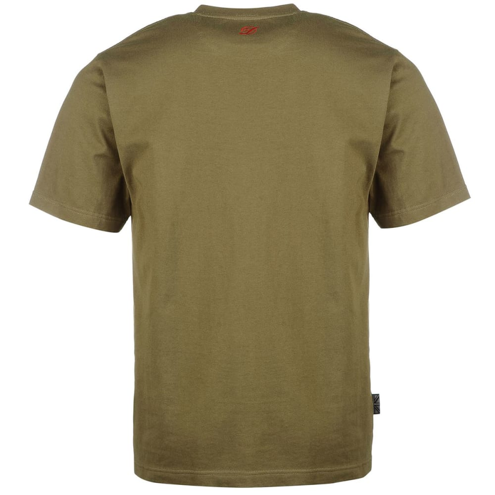 DIEM Men's Small Logo Short-Sleeve Tee - GREEN