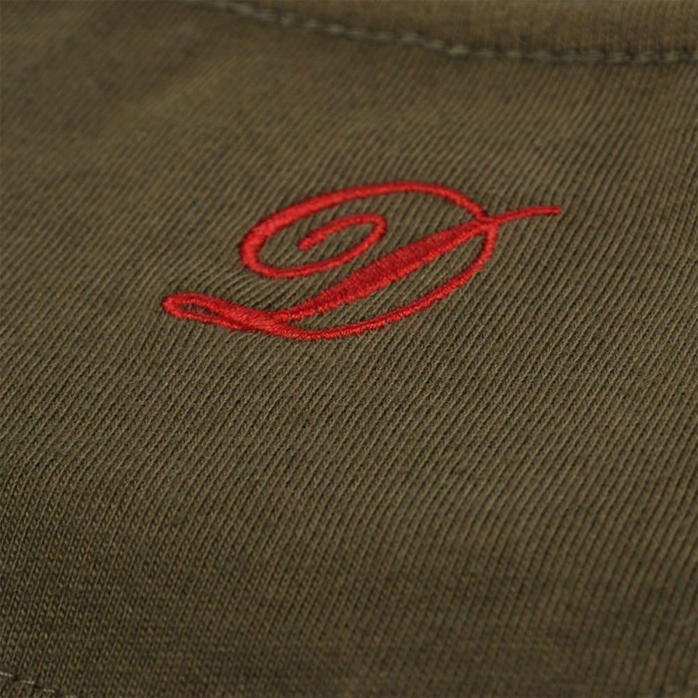DIEM Men's Small Logo Short-Sleeve Tee - GREEN