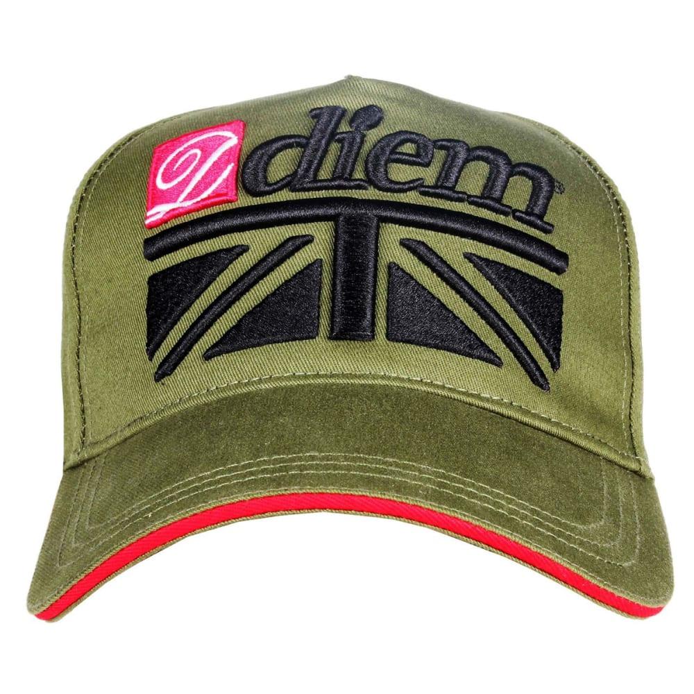 DIEM Orbit Cap - Green/Camo