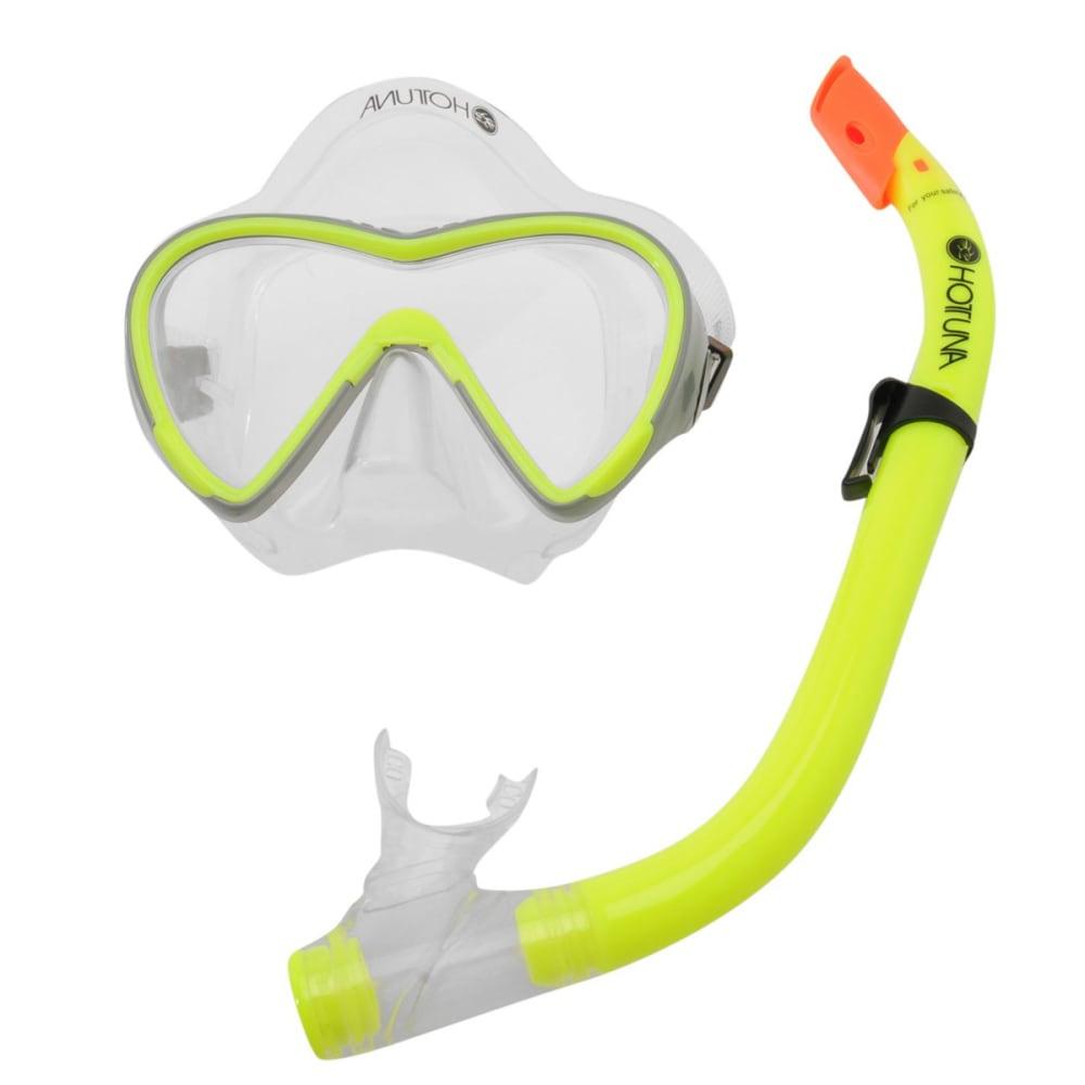 HOT TUNA Kids' Mask Snorkel Set - YELLOW