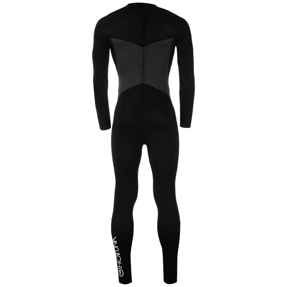 HOT TUNA Men's 2.5mm Full Wetsuit - BLACK/CHARCOAL