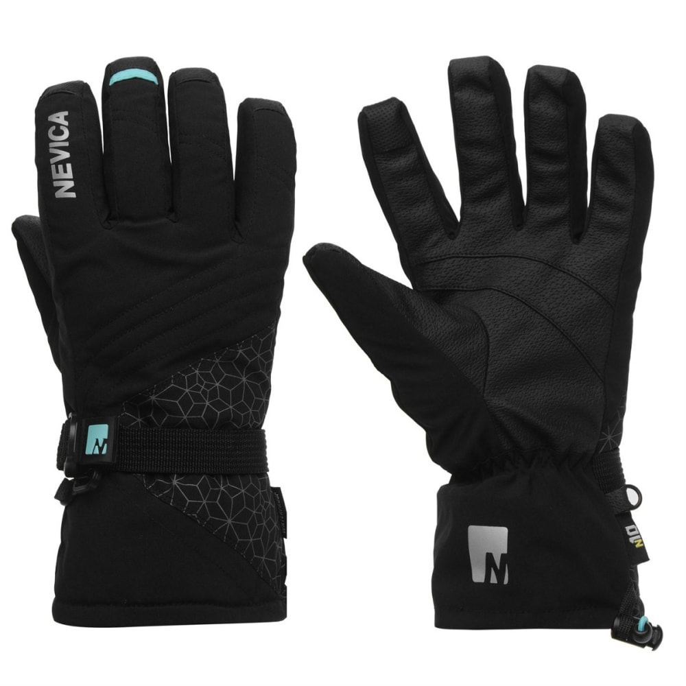 NEVICA Women's 3-in-1 Ski Gloves - BLACK