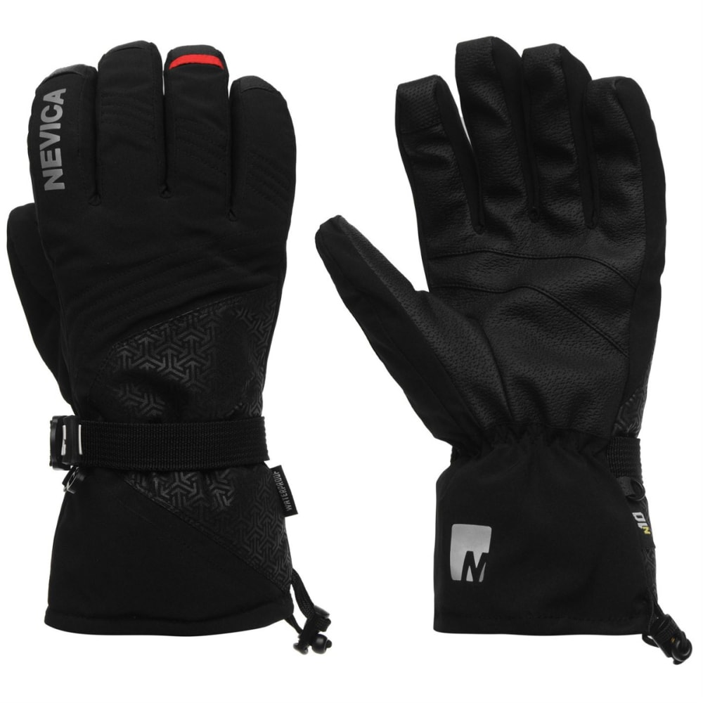 NEVICA Men's 3-in-1 Ski Gloves - BLACK
