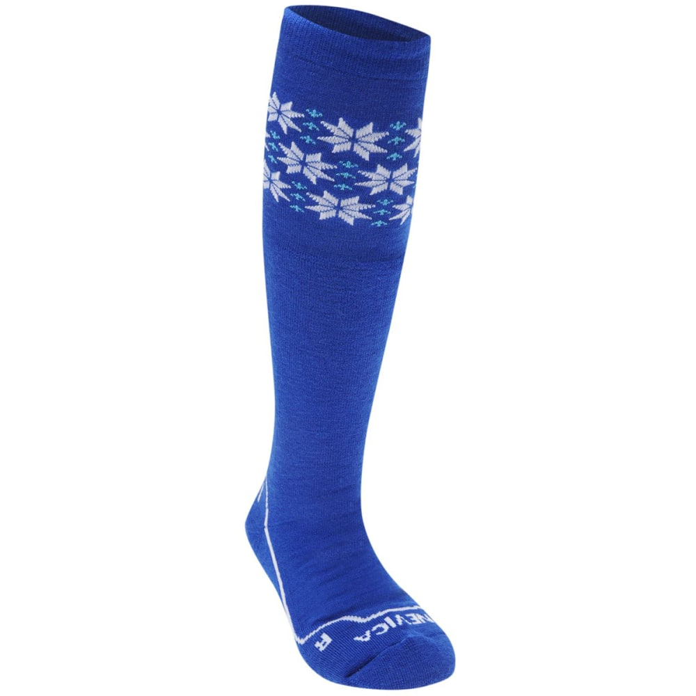 NEVICA Big Kids' Extreme Ski Socks - ROYAL/WHITE