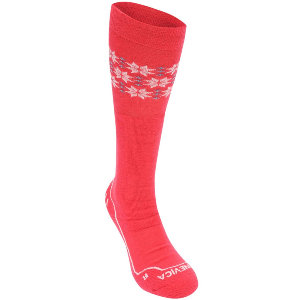 NEVICA Women's Extreme Ski Socks - Fuchsia/Navy