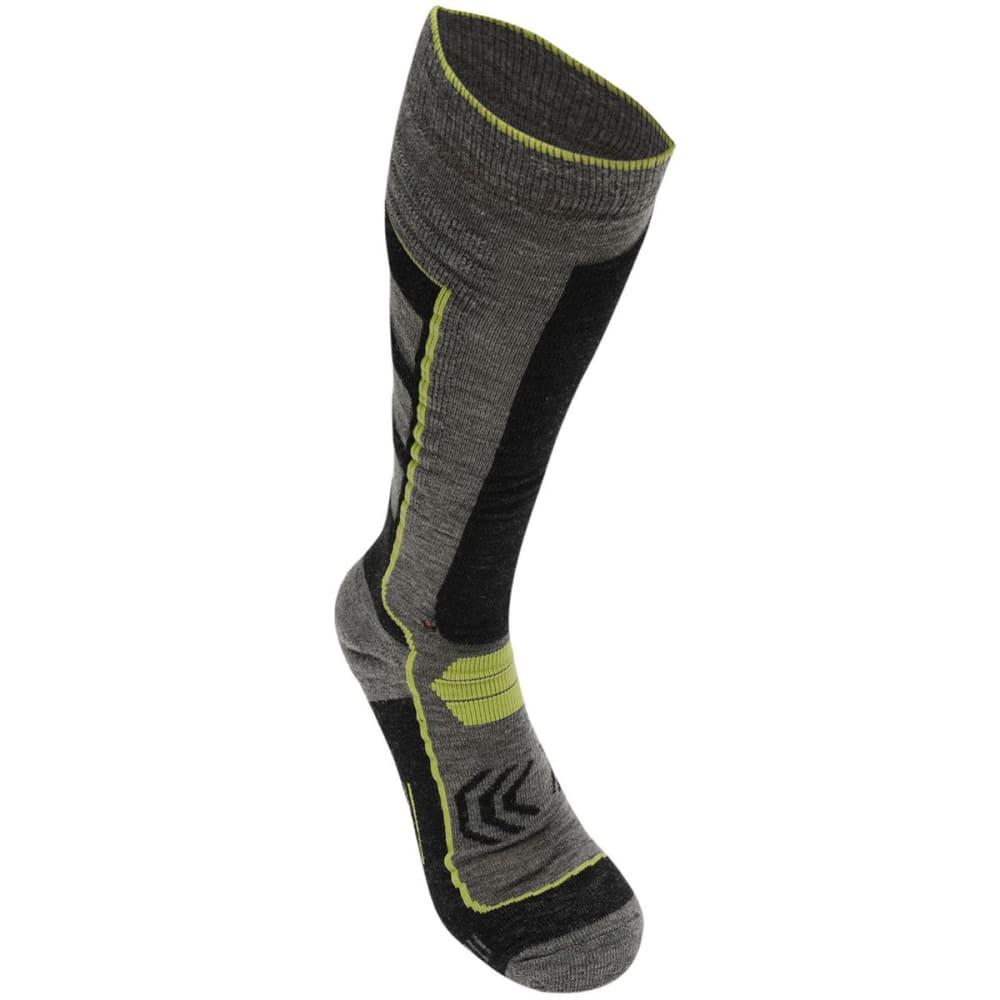 NEVICA Men's Extreme Ski Socks - BLACK/LIME