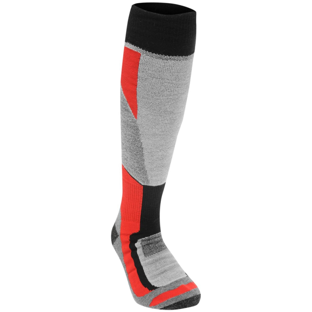 NEVICA Big Kids' Ultimate Ski Socks - BLACK/RED