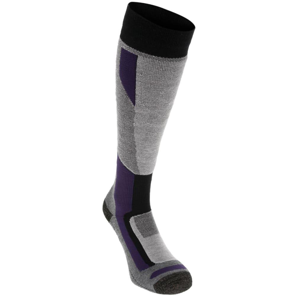 NEVICA Women's Ultimate Ski Socks - BLACK/PURPLE