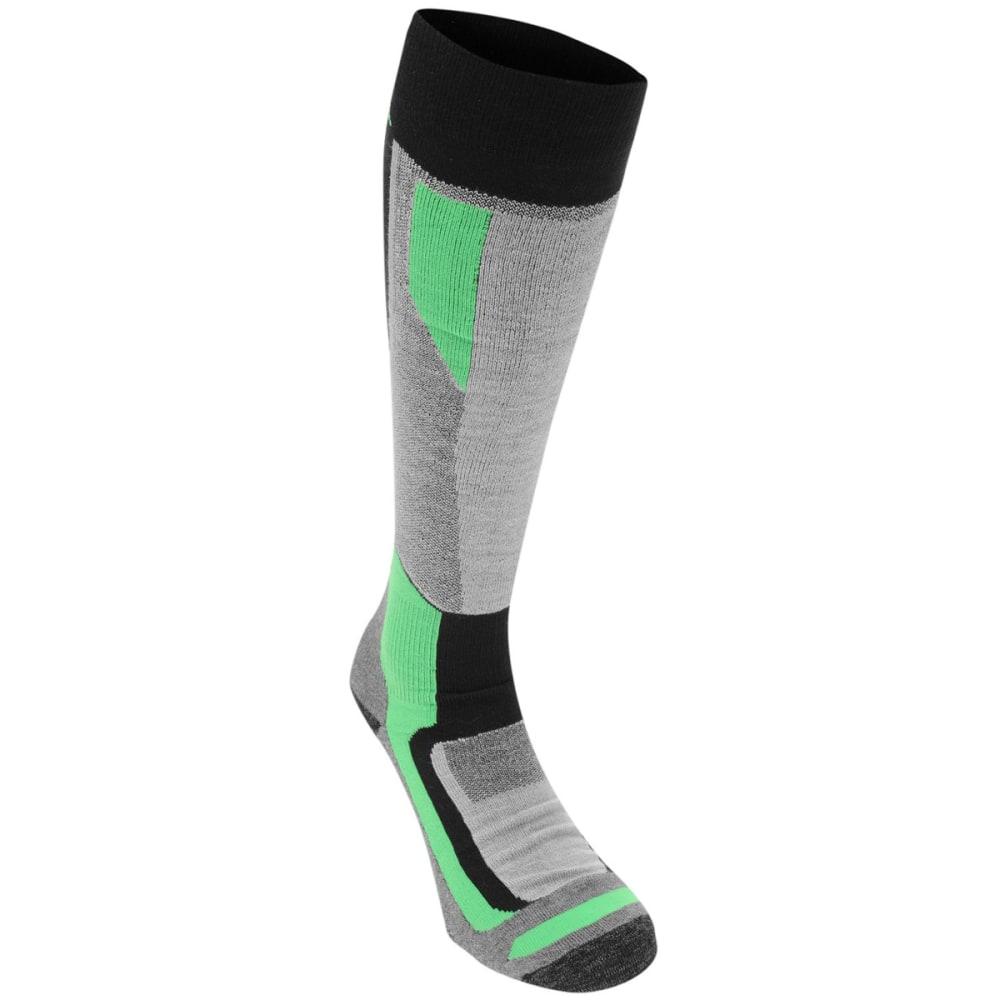 NEVICA Men's Ultimate Ski Socks - BLACK/GREEN