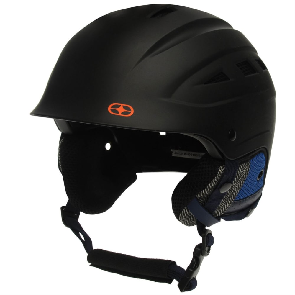 NO FEAR Men's Powder Ski Helmet - BLACK