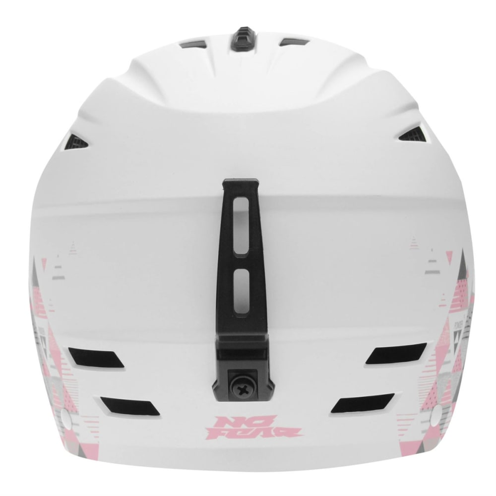 NO FEAR Women's Powder Ski Helmet - WHITE