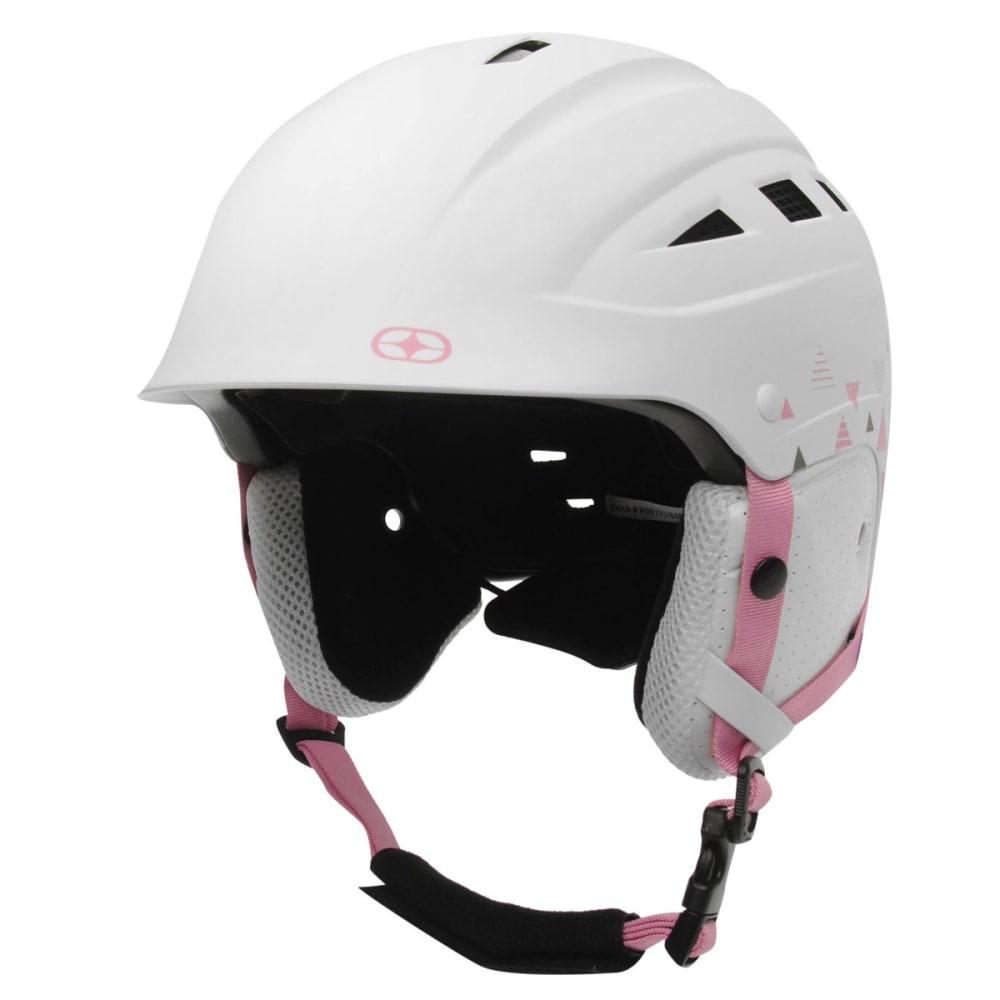 NO FEAR Women's Powder Ski Helmet - WHITE