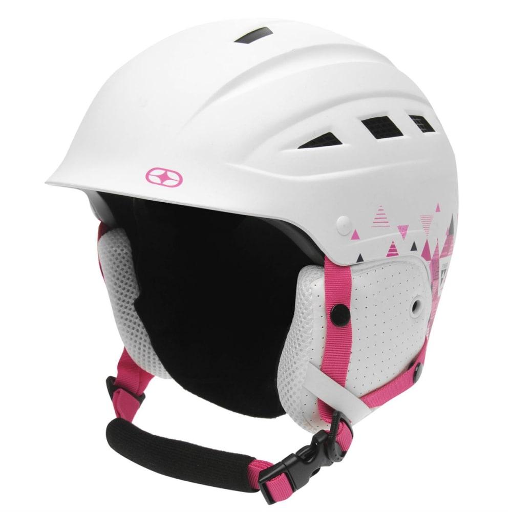 NO FEAR Girls' Powder Ski Helmet - WHITE