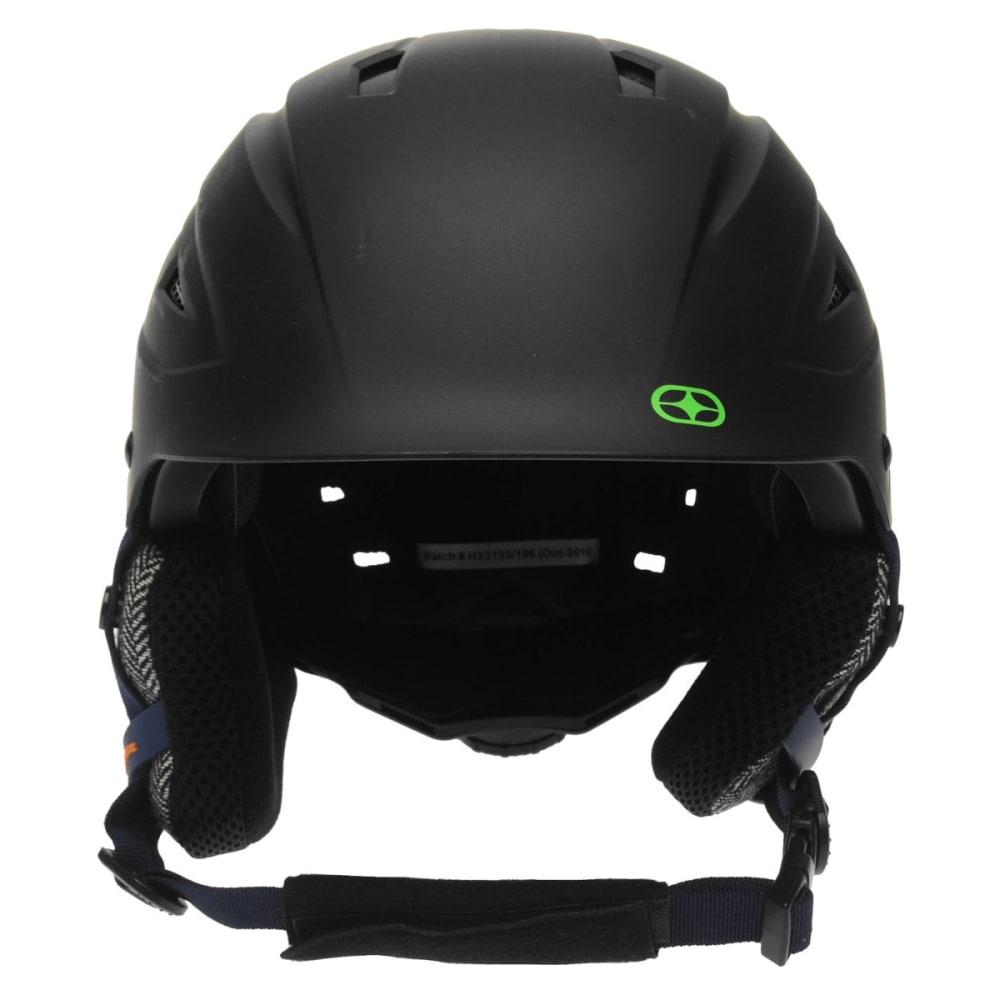 NO FEAR Boys' Powder Ski Helmet - BLACK