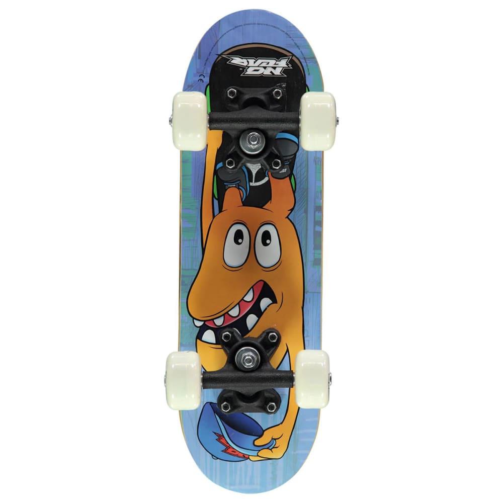 NO FEAR Micro Junior Skateboard - Yellow Mouth