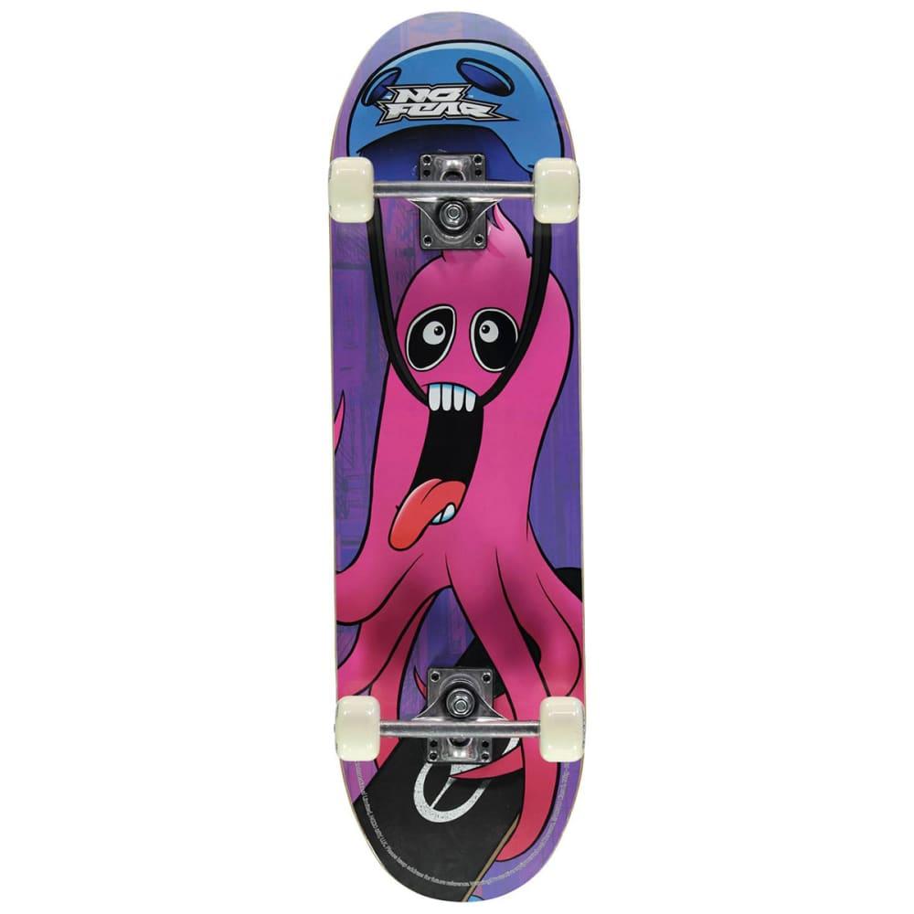 NO FEAR Junior Skateboard - Pink Monster