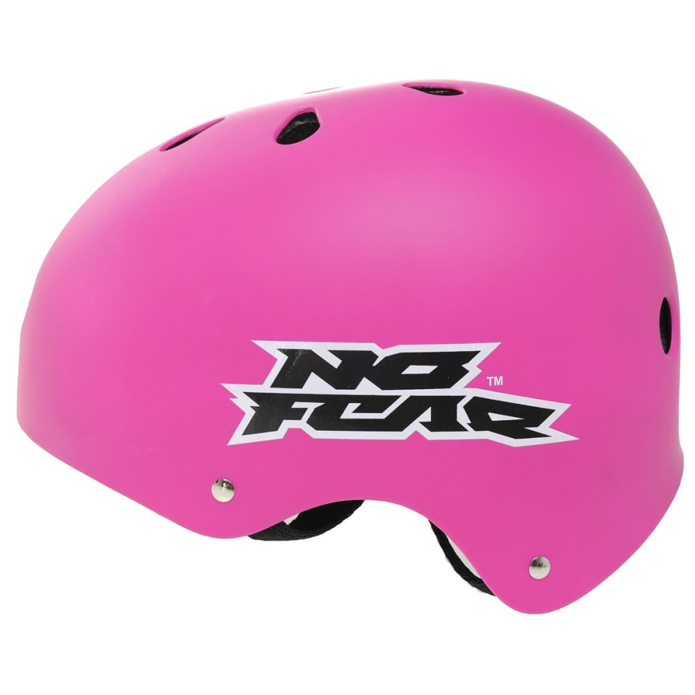 NO FEAR Skate Helmet - PINK