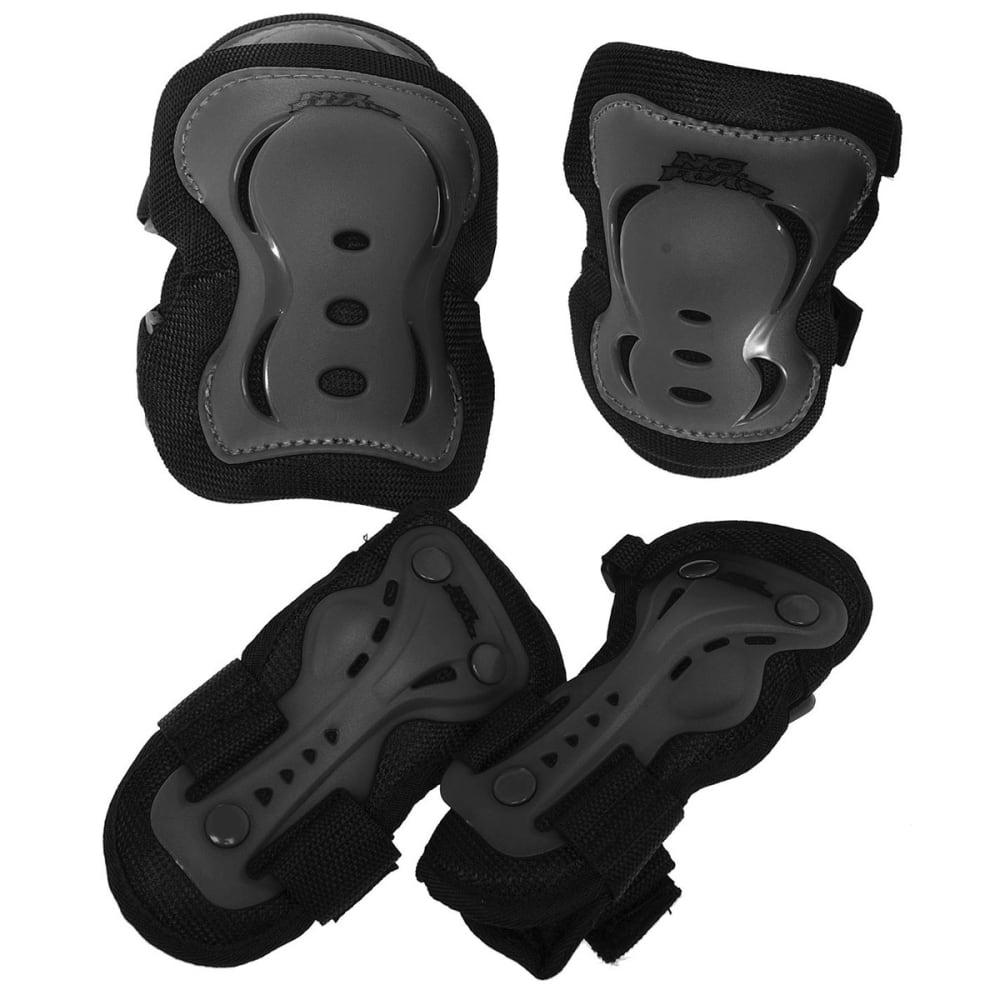 NO FEAR Kids' Skate Protection Set, 3-Pack - BLACK